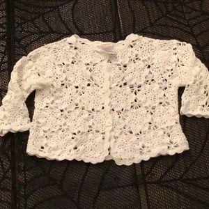 Gymboree White Sweater